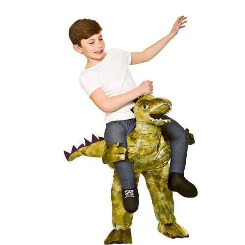 Childrens Carry Me - Dinosaur Costume Unisex Fancy Dress